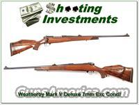 Weatherby Mark V Deluxe 7mm Wthy Mag Exc Cond!