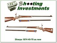 Shiloh Sharps 1874 Long Range Express rifle in 45-70