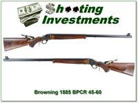 Browning 1885 rare 40-65 BPCR 30in, case colored!