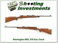 Remington 700 BDL 270 Win Exc Cond