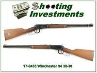 Winchester 94 30-30 with 1887 Silver Doller!