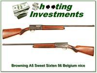 Browning A5 56 Belgium Sweet Sixteen 28in Modified!