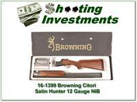 Browning Citori Satin Hunter 28in 12 Mag NIB