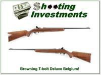 Browning T-bolt Deluxe Belgium made collector!