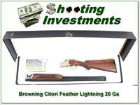 Browning Citori Feather Ligtning 28in 20 Ga NIB!