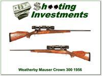 Weatherby Custom Crown Mauser 300 1952 Exc Cond!