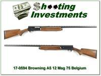 Browning A5 12 Magnum 75 Belgium 32in VR Exc!