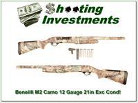 Benelli M2 12 Gauge 3in 21in Camo Exc Cond!