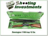 Remington 1100 Trap 12 Ga in case with 3 barrels