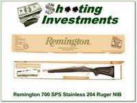Remington 700 SPS Stainless in 204 Ruger