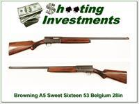 Early Browning A5 Sweet Sixteen 53 Belgium!