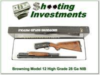 Browning Model 12 High Grade 5 28 Ga XXX NIB