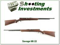 Savage Model 6B .22LR/L/S semi auto tube fed rifle