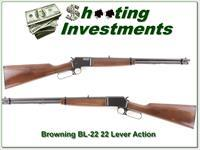 Browning BL-22 22 Lever as new
