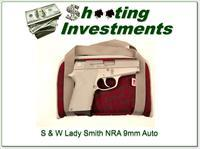 Smith & Wesson Lady Smith 9mm Stainless NRA NIB!