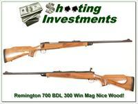 Remington 700 BDL 300 Win Mag 60s Stainless!