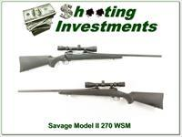 Savage Model II in 270 WSM with scope