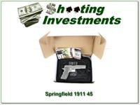 Springfield 1911 -A1 TRP Stainess unfired in box