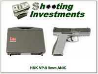 H&K Heckler & Koch VP-9 Grey 9mm NIB