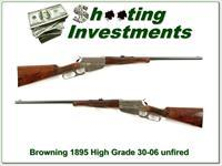 Browning 1895 High Grade 30-06 as new!
