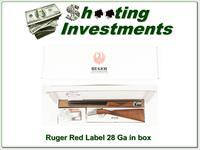 Ruger Red Label 28 Gauge 26in in the box!