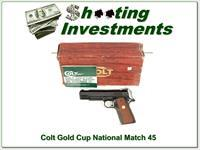Colt Gold Cup Nation Match Mark IV Series 70 ANIB