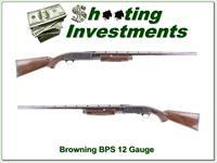 Browning BPS 12 Gauge 3in exc cond engraved