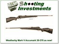 Weatherby Accumark 30-378 Exc Cond!