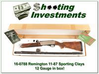 Remington 11-87 1187 Sporting Clays 12 Gauge 30in in box!