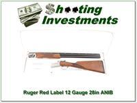 Ruger Red Label 12 Gauge 28in choke tubes in box!
