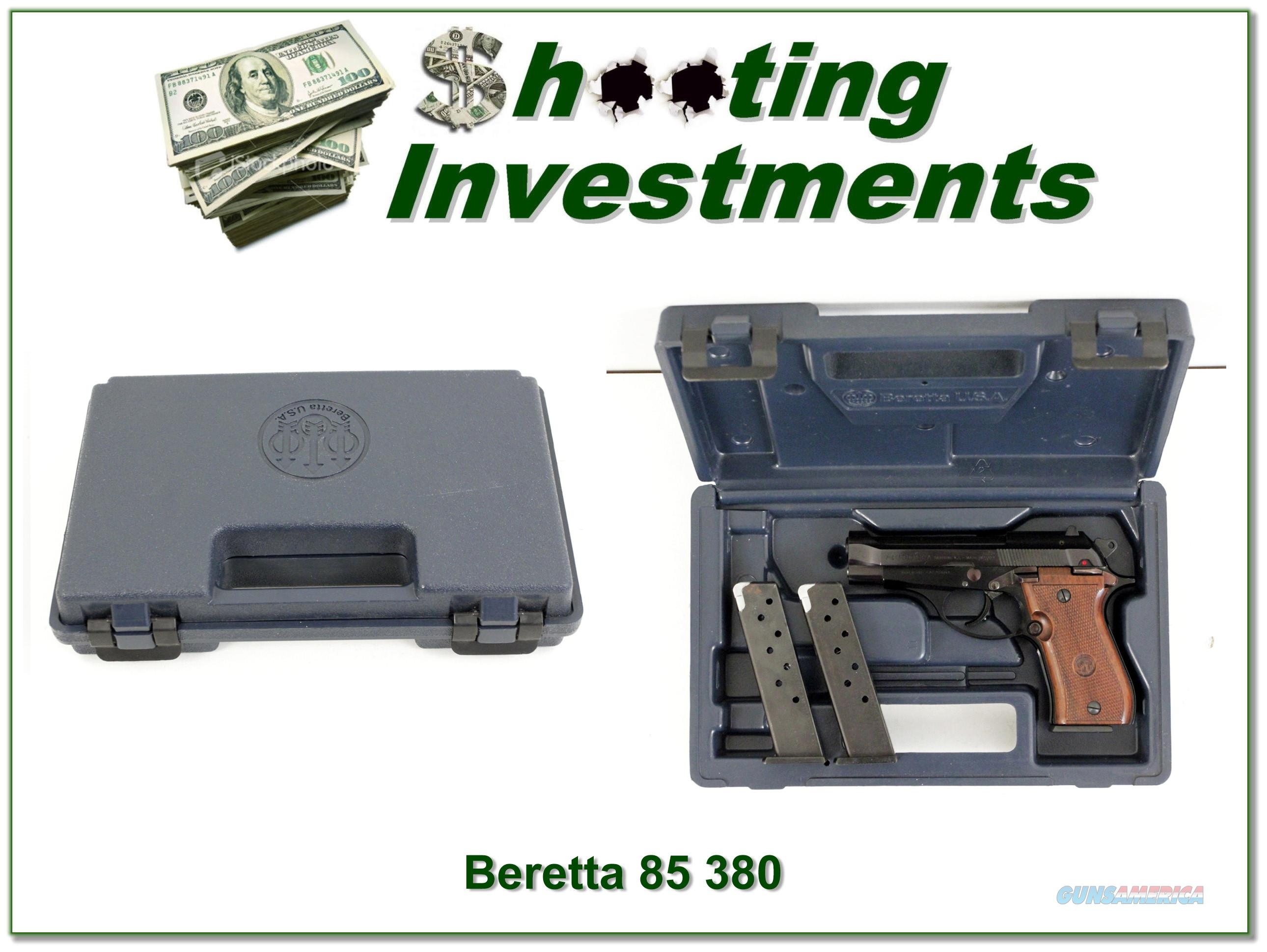 Beretta 85 BB 380 in the case with 3 magazines!