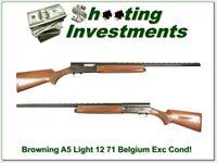 Browning A5 Light 12 71 Belgium 28in VR Mod
