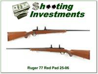 Ruger 77 25-06 earler Red Pad!