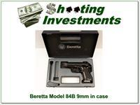 Beretta 84B 380 in box .9 Short