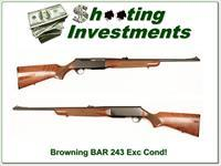 Browning BAR 243 Winchester Exc Cond!