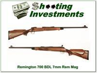 Remington BDL 7mm Rem Mag Exc Cond!