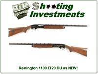 Remington 1100 LW-20 20 Gauge Ducks Unlimited as new!