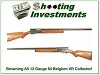 Browning A5 12 Gauge 64 Belgium Blond VR Collector!