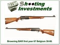 Browning BAR first year 67 Belgium 30-06 Grade II