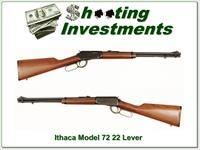 Ithaca Model 72 Saddle Gun .22 LR Lever action