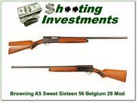 Browning A5 Sweet Sixteen 65 Belgium 28in Modified