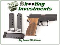 Sig Sauer P225 German 9mm with 4 magazines