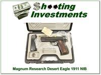 "Magnum Research Desert Eagle 5"" 1911-G 45 NIC"