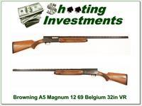 Browning A5 Magnum 12 69 Belgium 32in VR