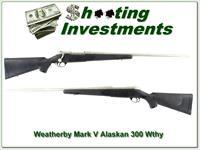 Weatherby Mark V Alaskan 300 Wthy 26in