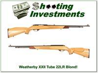 Weatherby Mark XXII Tube BLOND Exc Condition!