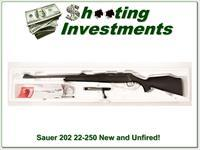 Sauer 202 in 22-250 as new unfired!
