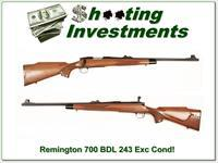Remington BDL 243 Winchester Exc Cond!