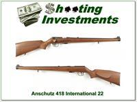 Anschutz 418 International 22 Exc Cond
