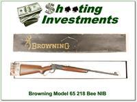 Browning Model 65 218 Bee NIB